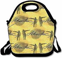 Alexander Hamilton und Arron Burr Lunch Bag