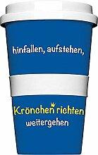 Alexander Holzach Coffee to go Kaffee Becher