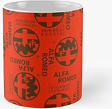 Alfa Cars Romeo Best 11 Ounce Ceramic Coffee Mug