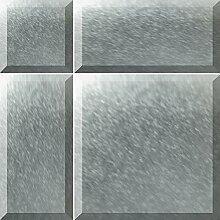 ALFA-CER Bisselglas Glasfliesen mit Schrägkante,