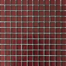 ALFA-CER Mozaik, Glas, Amaranth Metallic, 29.8 x