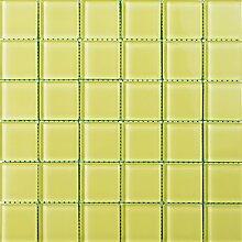ALFA-CER Mozaik, Glas, Apfelgrün Pastell, 29.8 x