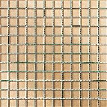 ALFA-CER Mozaik, Glas, Beige Glitter, 29.8 x 29.8