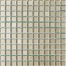 ALFA-CER Mozaik, Glas, Beige Metallic, 29.8 x 29.8