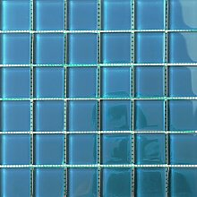 ALFA-CER Mozaik, Glas, Blau Pastell, 29.8 x 29.8 cm
