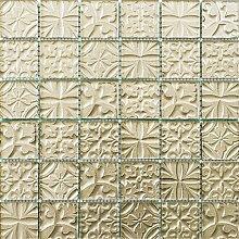 ALFA-CER Mozaik, Glas, Champagner Metallic, 29.8 x