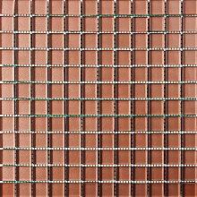 ALFA-CER Mozaik, Glas, Copper Metallic, 29.8 x