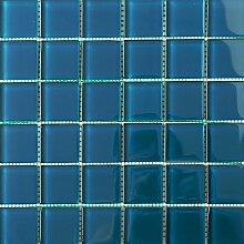 ALFA-CER Mozaik, Glas, Dunkelblau Pastell, 29.8 x