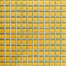 ALFA-CER Mozaik, Glas, Gelb Pastell, 29.8 x 29.8 cm