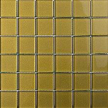 ALFA-CER Mozaik, Glas, Gold Metallic, 29.8 x 29.8