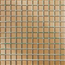 ALFA-CER Mozaik, Glas, Honig Glitter, 29.8 x 29.8