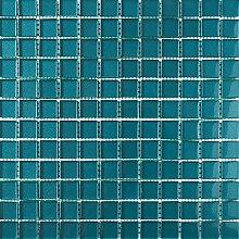 ALFA-CER Mozaik, Glas, Meerblau Metallic, 29.8 x