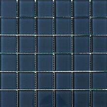 ALFA-CER Mozaik, Glas, Royalblau Pastell 29.8 x