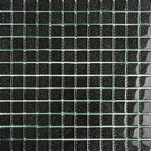 ALFA-CER Mozaik, Glas, Schwarz Glitter, 29.8 x