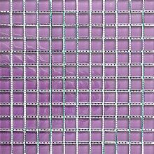ALFA-CER Mozaik, Glas, Violett Pastell, 29.8 x