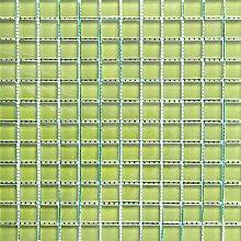 ALFA-CER Mozaik, Glas, Zartgrün Pastell, 29.8 x
