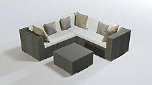alfa Cube Rückenauflagen Set bis 2011 in Crema -