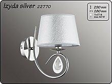 ALFA Izyda Silber 1 Wandleuchte Wandlampe