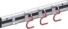 alfer Gerätehalter Typ 12 mit coaxis®-Profil 100