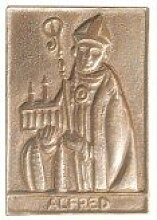 Alfred * kleine Geschenkidee Weihnachten * Namensplakette / Relief / Plakette * Grösse:8 x 6 cm
