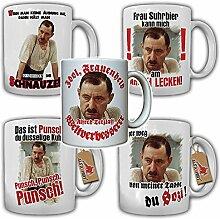 Alfred Tetzlaff Tassen Set Kult Humor Fun Sozi Punsch Spruch Zitat Geschenk Idee 70er Jahre Serie - Tasse Kaffee Becher #17814