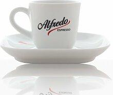 Alfredo Design Espresso-Tasse mit Untertasse 6