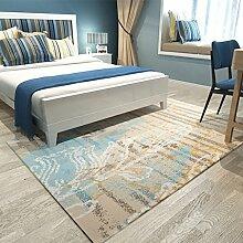Ali Einfaches modernes Wohnzimmer Sofa mit Kaffee Matratzen Bettboden voller Boden mit Nachttisch Teppich ( Farbe : #1 , größe : 120*160cm )