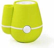 Ali Usb befeuchter mini luft kreative home büro auto stille vase feuchtigkeitscreme ( Farbe : Grün )