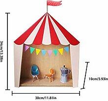 alian Zirkus Kabine Haus Regal Ornamente Hängende