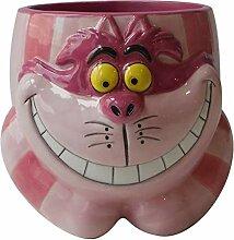 Alice in Wonderland Cheshire Cat Keramik-Becher