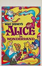 Alice in Wonderland Filmposter, 1970er