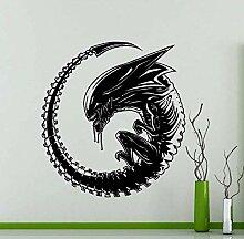 Alien Monster Film Aufkleber Künstler Dekoration