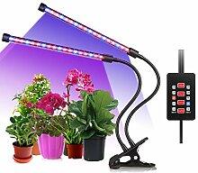 ALIENGT Led Pflanzenlampe UV Lampe Pflanzen Grow