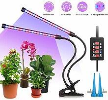 ALIENGT Pflanzenlampe LED mit Timer, Automatische