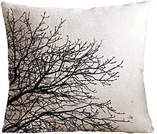AliHogbenStore blank branch throw #:516 Pillow Case Cushion Cover Home Sofa Decorative 18 X 18 Squares