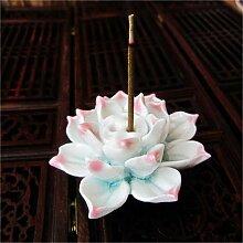 ALILEO 1 Stück Keramik Lotus Blume Aromatherapie