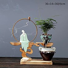 ALILEO Chinesischen Stil Zen Fließende Wasser