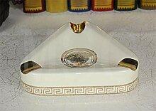ALILEO Europäischer Keramik Aschenbecher Keramik