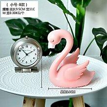alileo Flamingo Creative Wohnzimmer Schlafzimmer Dekoration Geschenke Fenster Desktop Animal Ornaments, Flamingo trumpet -B