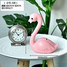 alileo Flamingo Creative Wohnzimmer Schlafzimmer Dekoration Geschenke Fenster Desktop Animal Ornaments, Flamingo trumpet -A