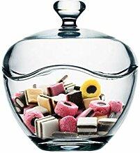 ALILEO Glas Zucker Glas Vorratsdose Dekoration