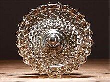 ALILEO Klassische Glas Aschenbecher Dekoration