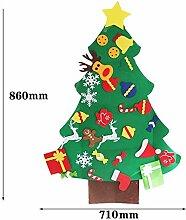 ALILEO Weihnachtsdekor Weihnachten Floral Banner