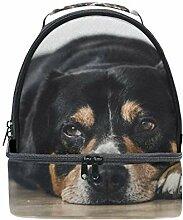 alinlo The Funny Hund Isolierte Lunch Tasche Tote