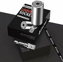 Alintor Universal Steckschlüssel (7-19mm) -