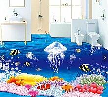 Aliworte 3D Tapete Bodenbelag Wasserdicht Fantasy