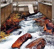 Aliworte 3D Tapete Hd Strömen Wasserfall Bad Bett