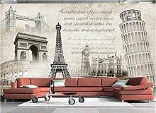 Aliworte 3D Tapete Klassische Architekturmalerei