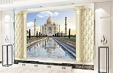 Aliworte 3D Tapete Religiöse Architekturmalereien