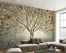 Aliworte 3D Tapete Schlafzimmer Wohnzimmer Baum